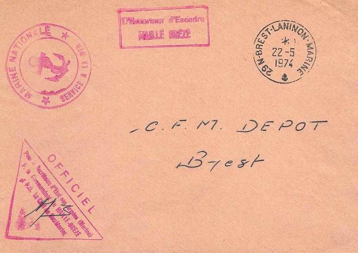 * MAILLÉ-BRÉZÉ (1957/1988) * 74-0511