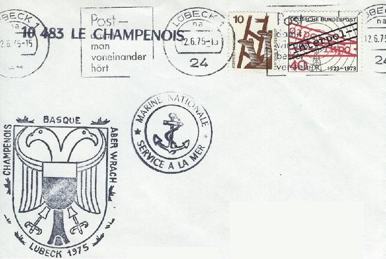 * LE CHAMPENOIS (1957/1975) * 75-0610