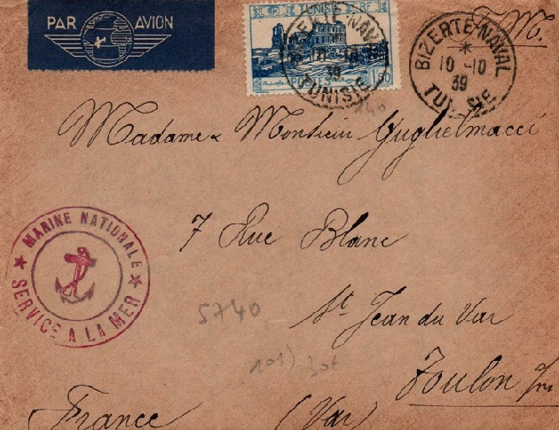 Bureau Naval N° 15 de Bizerte 751_0012