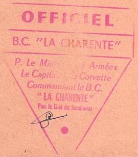 * LA CHARENTE (1964/1983) * 77-11_10