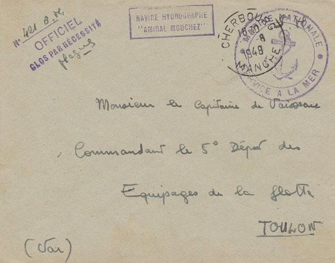 amiral - * AMIRAL MOUCHEZ (1937/1965) * 770_0012