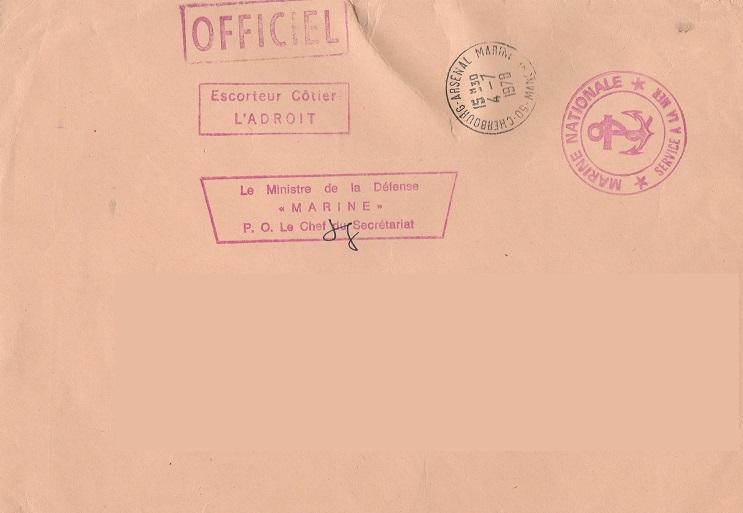 * L'ADROIT (1958/1980) * 78-0710