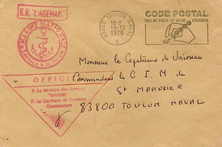 * L'AGENAIS (1958/1985) * 78-1210