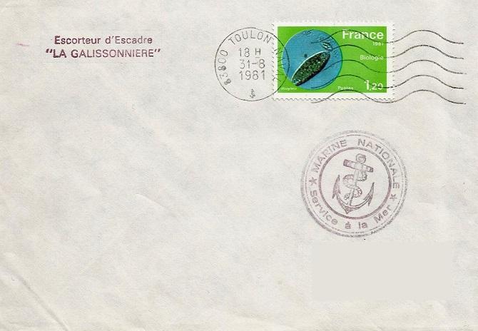 * LA GALISSONNIÈRE (1962/1990) * 81-0810