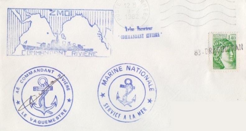 * COMMANDANT RIVIÈRE (1962/1992) * 82-0211