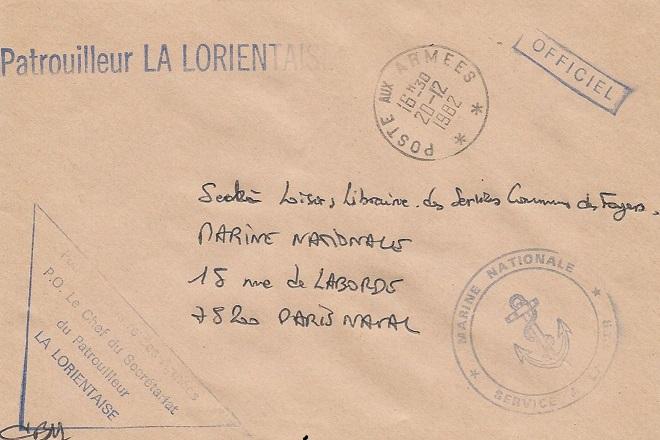 * LA LORIENTAISE (1954/1986) * 82-1213