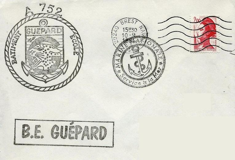 * GUÉPARD (1983/....) * 84-0910