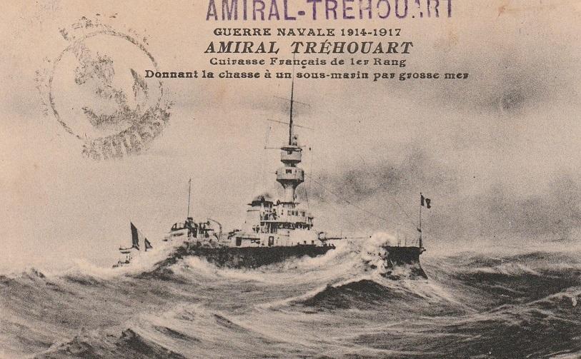 * AMIRAL TRÉHOUART (1896/1920) * 850_0014