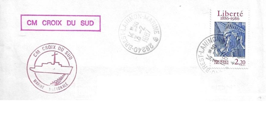 * CROIX DU SUD (1986/....) * 87-0210