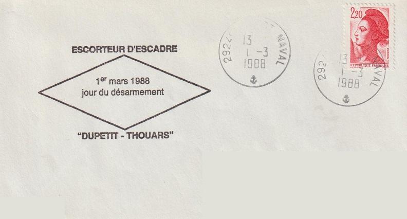 * DUPETIT-THOUARS (1956/1988) * 88-0310