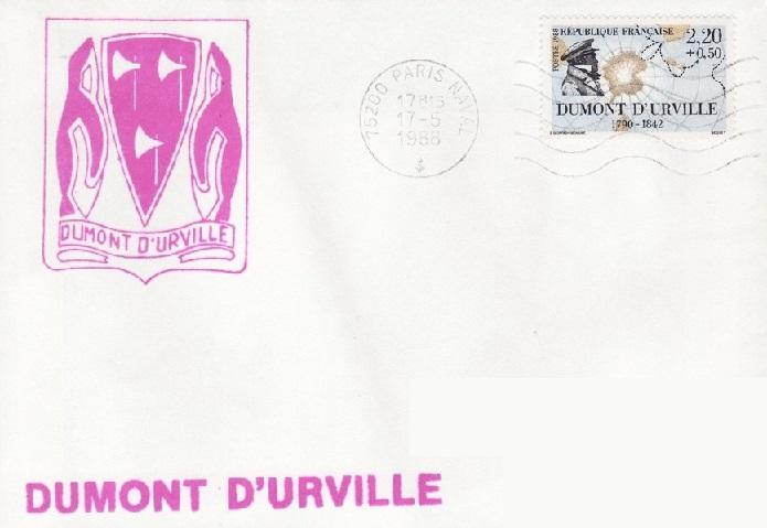 * DUMONT D'URVILLE (1983/2017) * 88-0510