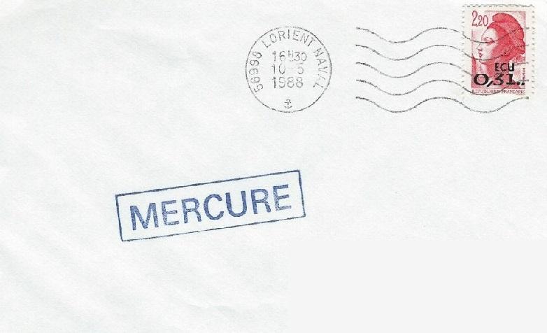 * MERCURE (1958/1991) * 88-0512