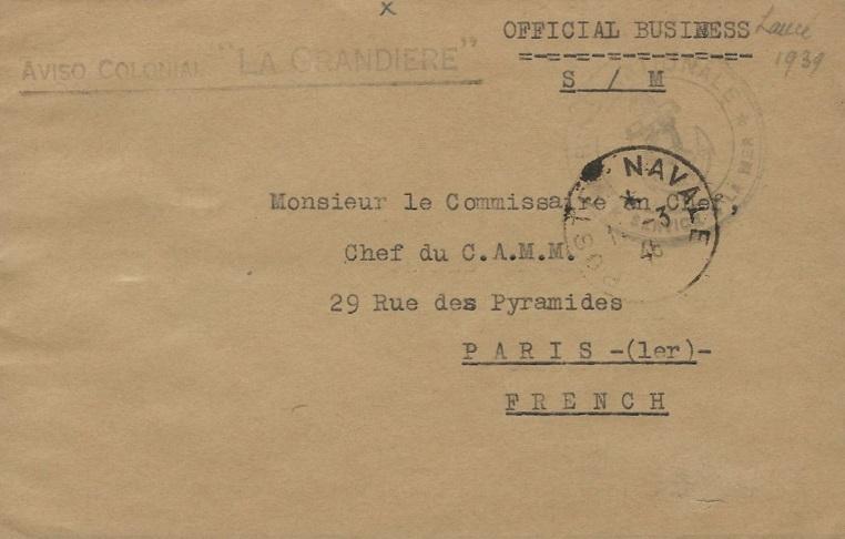 * LA GRANDIÈRE (1940/1959) * 885_0011