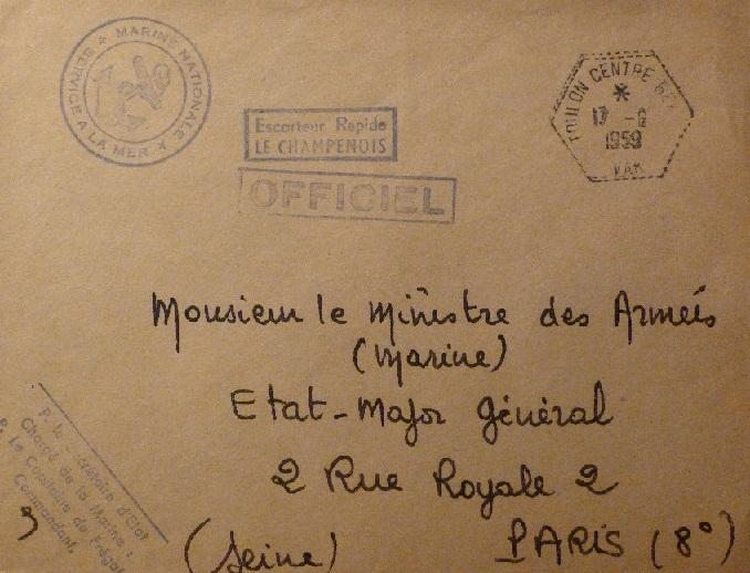 * LE CHAMPENOIS (1957/1975) * 89-0610