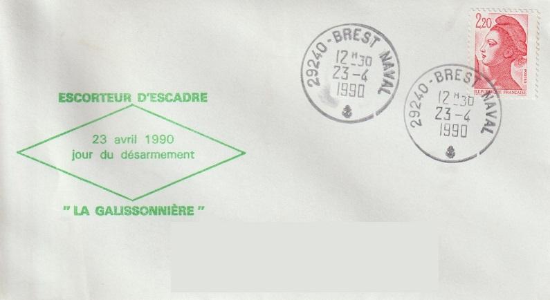 * LA GALISSONNIÈRE (1962/1990) * 90-0410