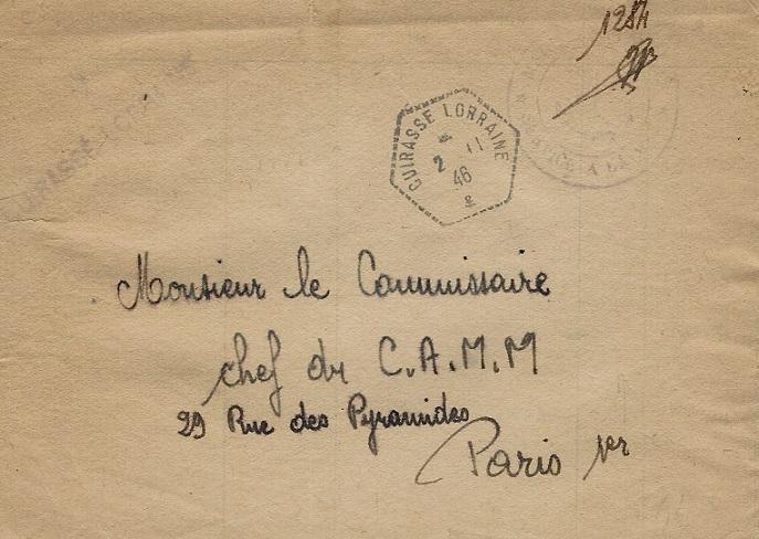 cuirasse - LORRAINE (CUIRASSE) 906_0012