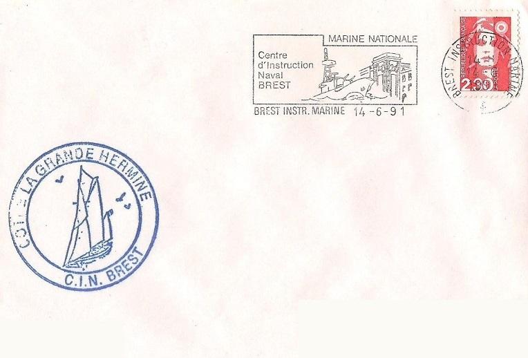 * LA GRANDE HERMINE (1964/....) * 91-0612