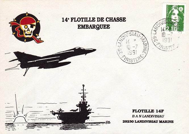 * FLOTTILLE 14 F * 91-0710