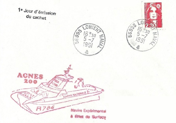 * AGNÈS 200 (1990/1992) * 91-0711