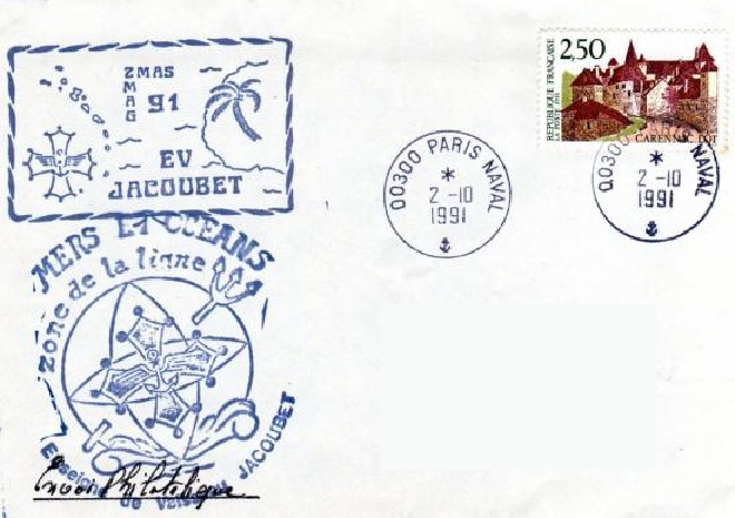 * ENSEIGNE DE VAISSEAU JACOUBET (1982/....) * 91-1013
