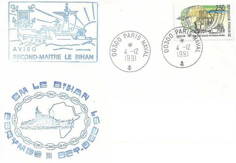 * SECOND MAÎTRE LE BIHAN (1979/2002) * 91-1212
