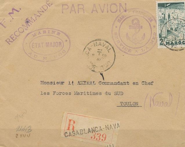 Bureau Naval N° 24 Casablanca 912_0012