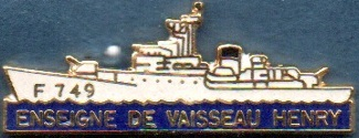 * ENSEIGNE DE VAISSEAU HENRY (1965/1994) * 914_0010