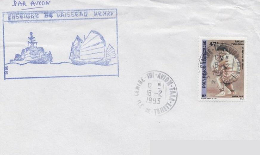 * ENSEIGNE DE VAISSEAU HENRY (1965/1994) * 93-0211