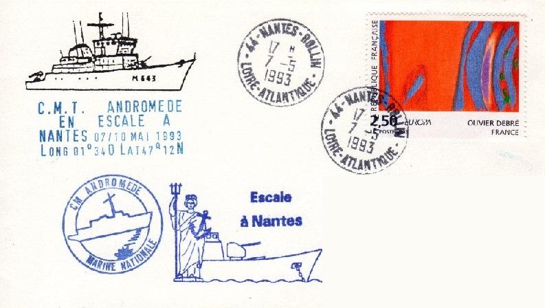 * ANDROMÈDE (1984/....) * 93-0512