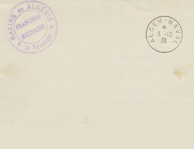 Bureau Naval N° 22 d'Alger 933_0010