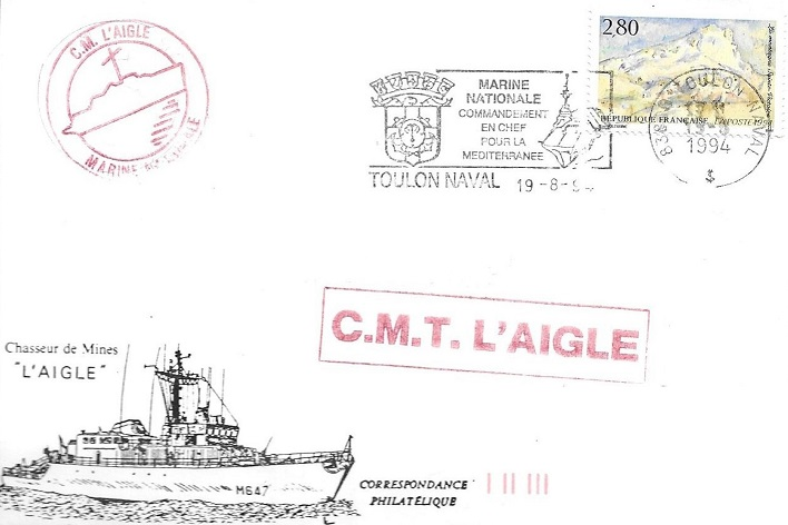 * L'AIGLE (1987/....) * 94-08_10