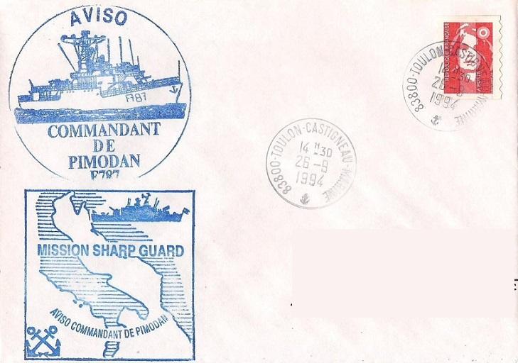 * COMMANDANT DE PIMODAN (1978/2000) * 94-0911