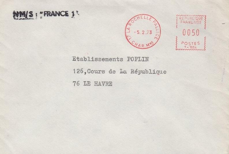 * FRANCE I (1958/1985) * 940_0012