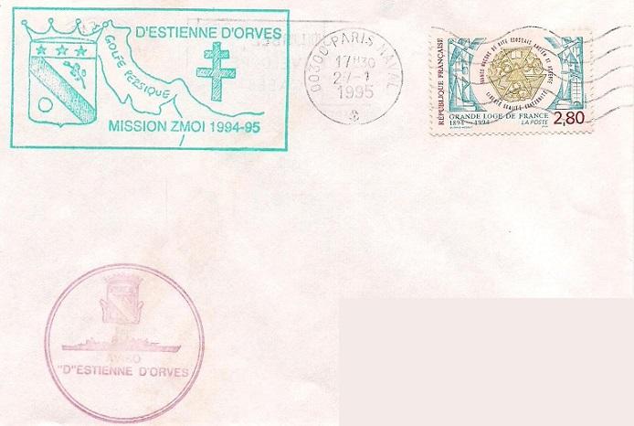 * D'ESTIENNE D'ORVES (1976/1999) * 95-0111