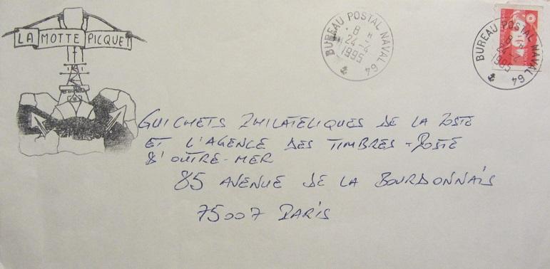 * LA MOTTE-PICQUET (1988/....) * 95-0410