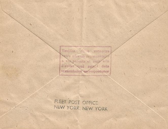 Cachets du Bureau Naval de New York 953_0010