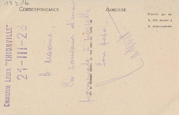 * THIONVILLE (1920/1933) * 953_0014