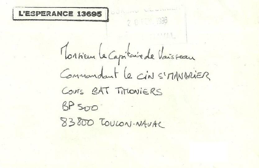 * L'ESPÉRANCE (1968/2000) * 96-0211
