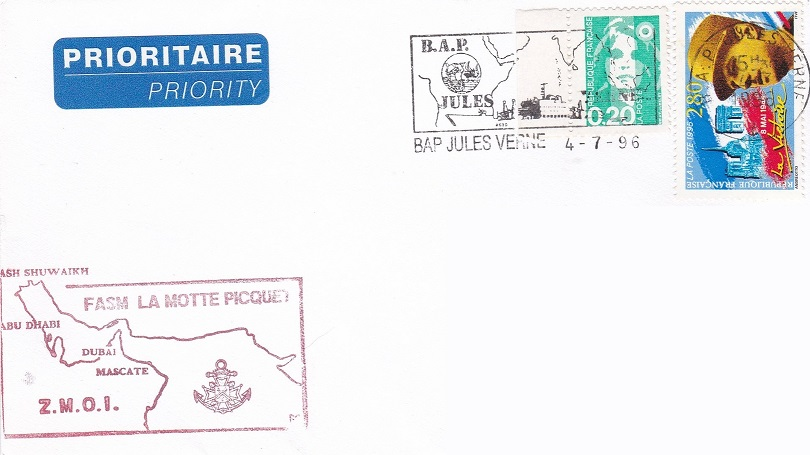 * LA MOTTE-PICQUET (1988/....) * 96-0715