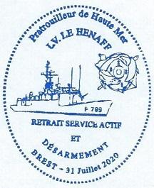 * LIEUTENANT DE VAISSEAU LE HÉNAFF (1980/2020) * 974_0012