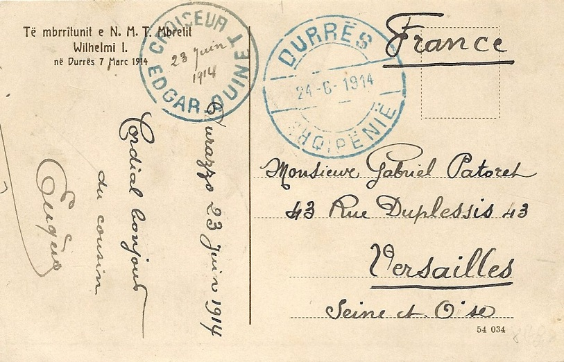 * EDGAR QUINET (1907/1930) * 977_0011