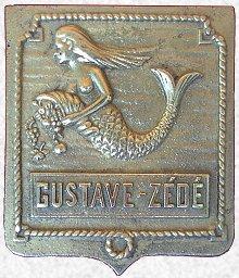 * GUSTAVE ZÉDÉ (1947/1970) * Blason17