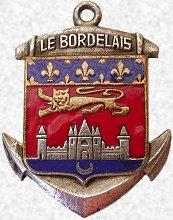 * LE BORDELAIS (1955/1976) * Blason55