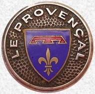 * LE PROVENÇAL (1959/1981) * Blason65