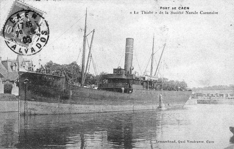 * THISBE (1917/1917) * Cargo_16