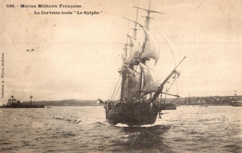 * SYLPHE (1887/1921) * Corvet10