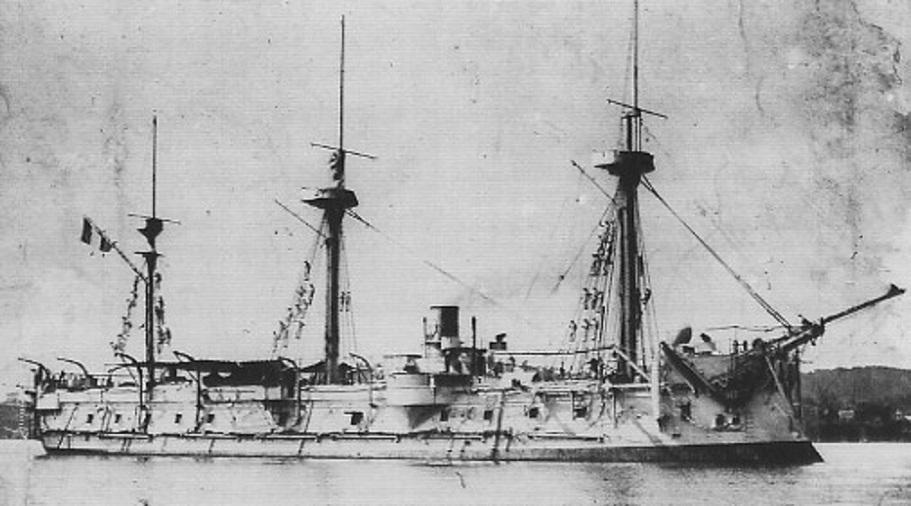 * TRIOMPHANTE (1879/1896) * Corvet11