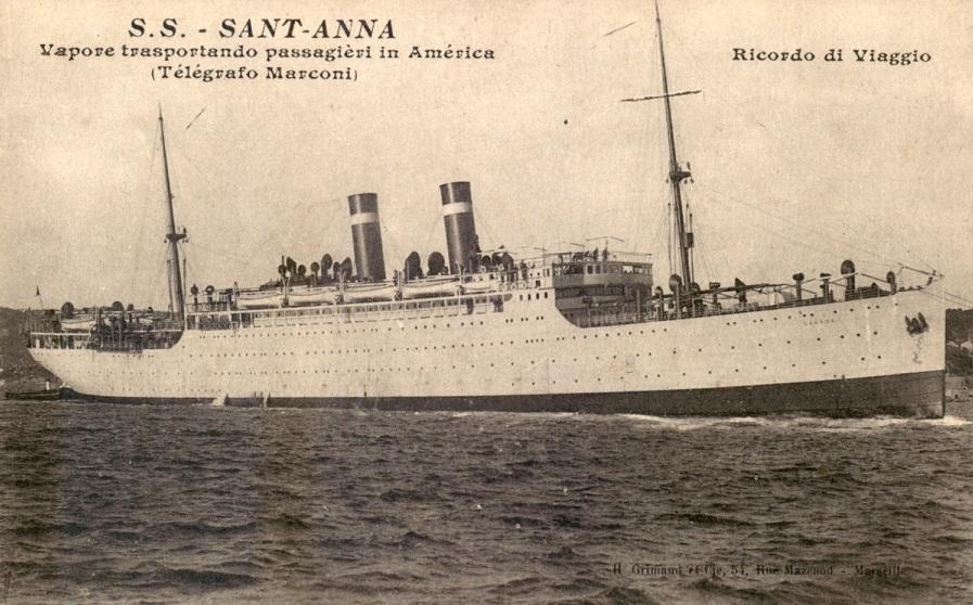 * SANT'ANNA (1915/1918) * Croise11
