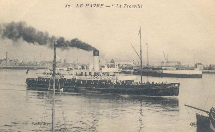 * TROUVILLE (1915/1919 et 1939/1940) * Drague15