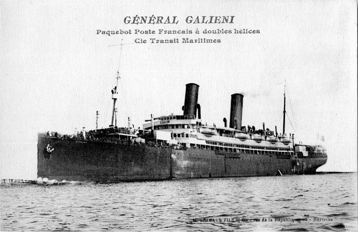 * GÉNÉRAL GALLIENI (1916/1923) * Galgal10